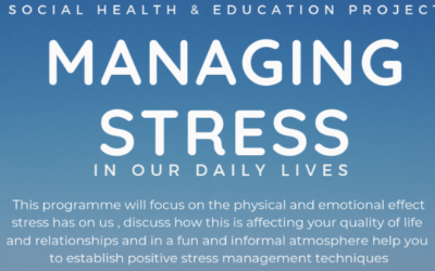 Would you like to learn to manage stress?